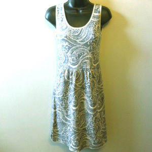 Jacquard Knit Sleeveless Dress Peruvian Connection